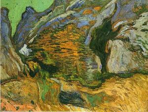Vincent Van Gogh - Os Peiroulets gully