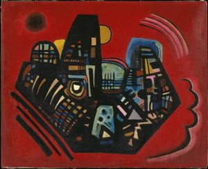 Wassily Kandinsky - Black-Red
