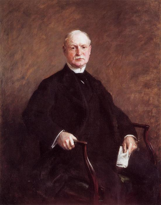 Colesberry Purves, óleo sobre tela por William Merritt Chase (1849-1916, United States)