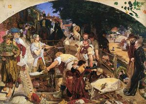 Ford Madox Brown - labor
