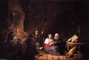 David The Younger Teniers - Iniciação Witches