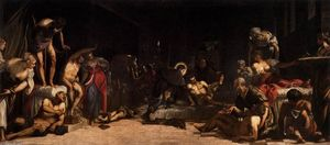 Tintoretto (Jacopo Comin) - st roch no hospital