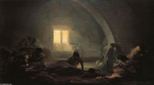 Francisco De Goya - hospital plague