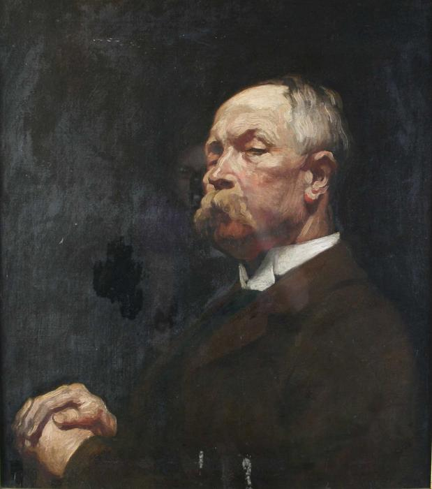 retrato do sr . Hayward por William Newenham Montague Orpen (1878-1931, Ireland) | ArtsDot.com