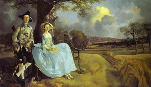 Thomas Gainsborough - Robert Andrews e sua esposa Frances