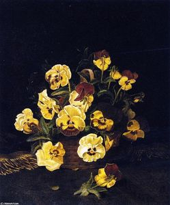 William Mason Brown - Ainda Pansies LIfe