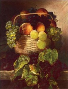 William Mason Brown - Still Life with Uvas . Am..