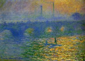 Claude Monet - Ponte de Waterloo em Londres