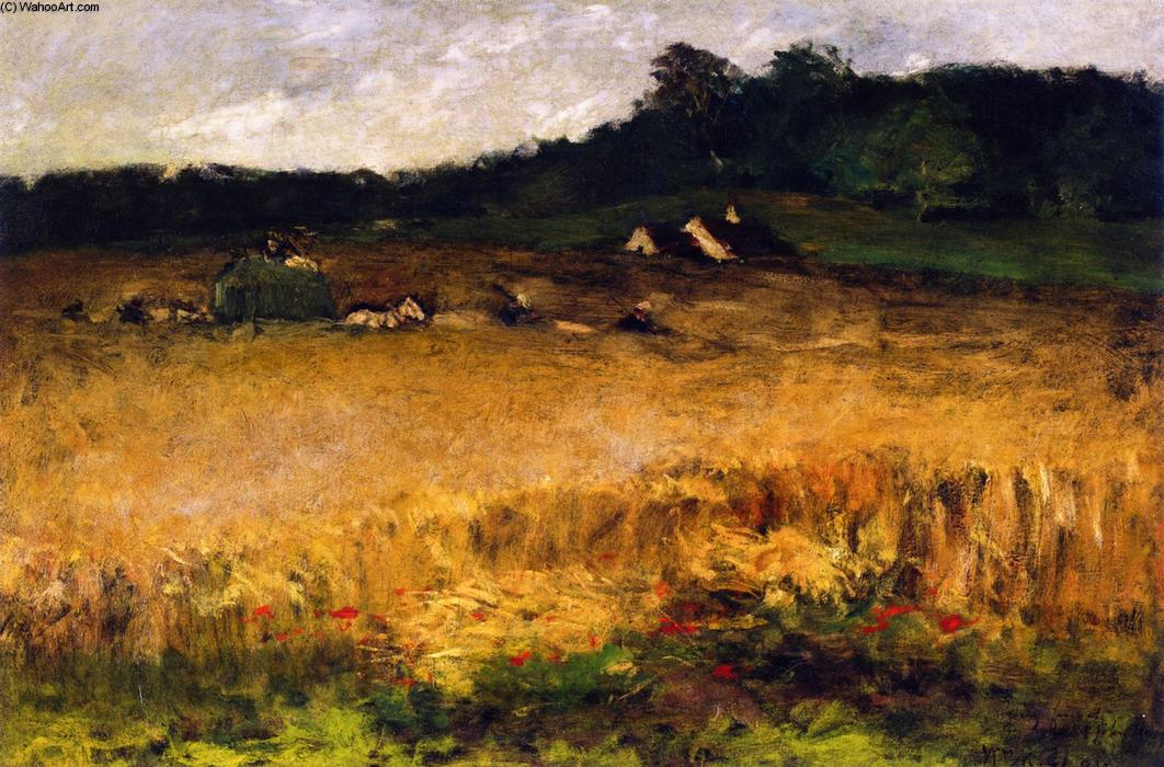 Wheat Field, óleo sobre tela por William Merritt Chase (1849-1916, United States)
