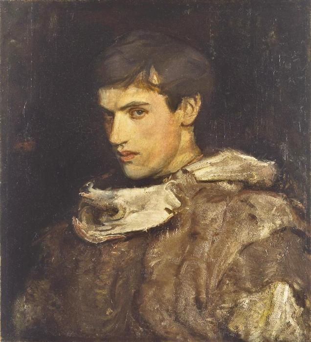 William Michael Spartali Stillman por Abbott Handerson Thayer (1849-1921, United States)