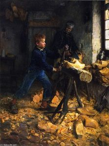 Henry Ossawa Tanner - The Young Sabot Criador