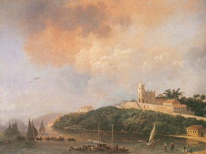 Nicolas Antoine Taunay - View From The Outeiro, da..