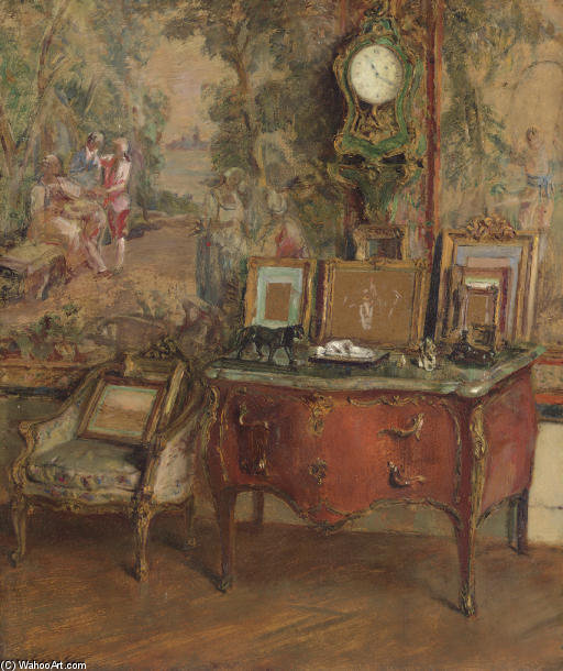 La Commode por Walter Gay (1856-1937, United States)
