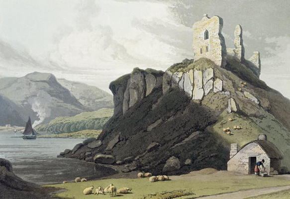 Arros Castle, Isle Of Mull, 'de uma Viagem ao Redor Grã-Bretanha Realizadas por Thomas And William Daniell (1769-1837, United Kingdom)