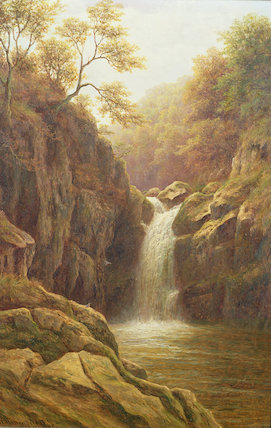 Pecca Foss - por William Mellor (1851-1931, United Kingdom)