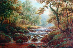 William Mellor - Posforth Ghyll, Bolton Madeira