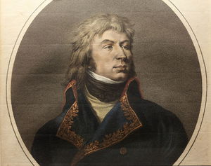 Paulin Jean Baptiste Guerin - Retrato do general Jean Reynier