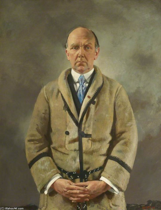 Leonard Scott A. Stokes por William Newenham Montague Orpen (1878-1931, Ireland)