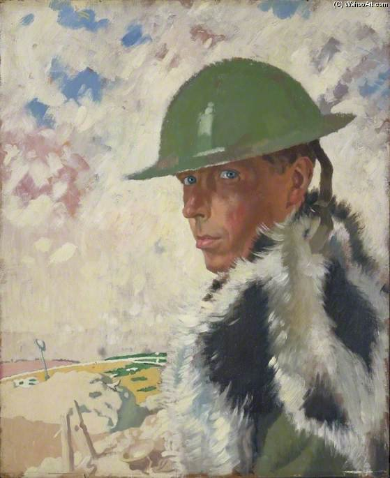 auto-retrato por William Newenham Montague Orpen (1878-1931, Ireland)