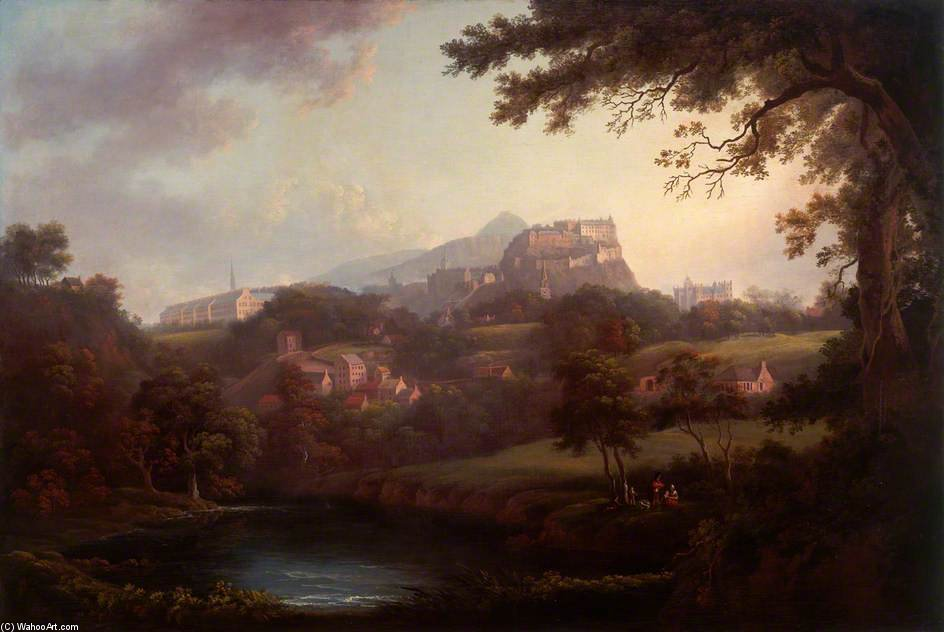 `edinburgh` do água por Patrick Nasmyth (1787-1831, United Kingdom)