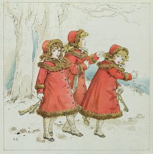 Kate Greenaway - 'winter' A partir de Abril Bab..