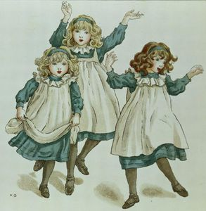 Kate Greenaway - As linhagens de Polly Flinders