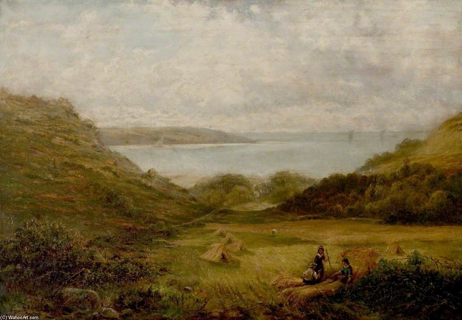 Barmouth Bay por Henry Hadfield Cubley (1858-1934, United Kingdom) | ArtsDot.com