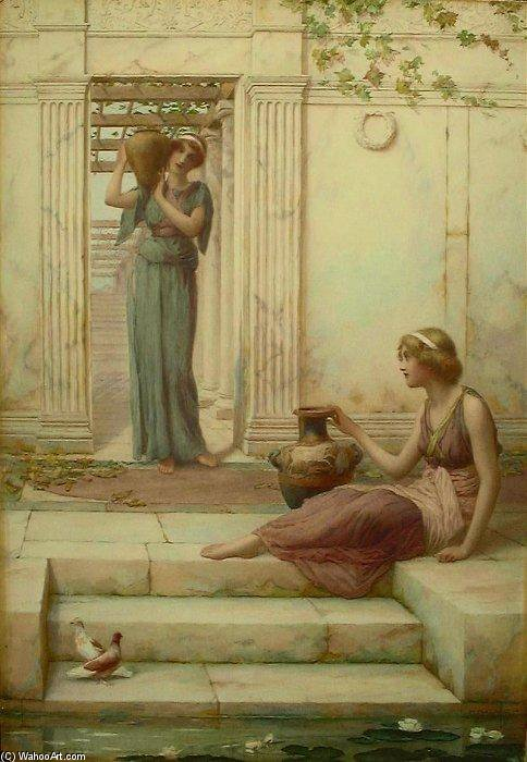 Os Watercarriers por Henry Ryland (1856-1924, United Kingdom)