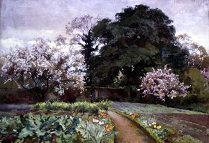 Alfred Parsons - A Kitchen Garden, Frome, ..