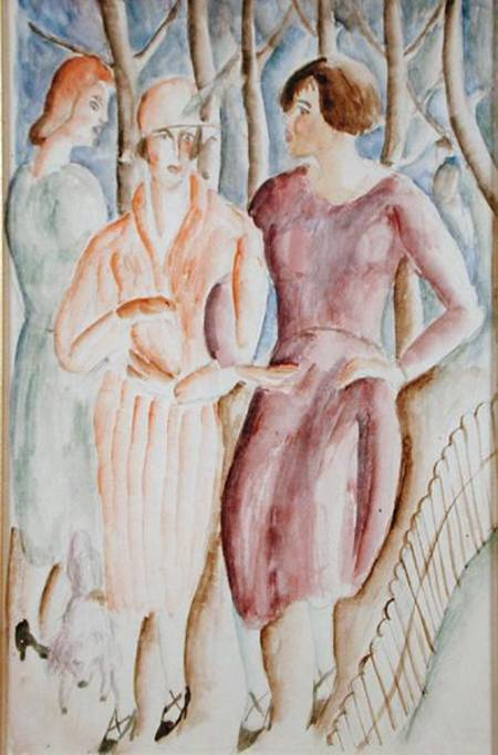 Francês garotas por Christopher Wood (1901-1930, United Kingdom) | ArtsDot.com