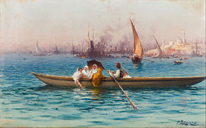 Fausto Zonaro - Divertimento no Caique