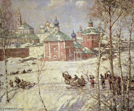 O Kremlin por Frederick William Jackson (1859-1918, United Kingdom)