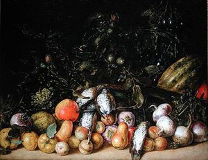 Gottfried Libalt - Natureza morta com frutas..