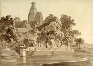 Thomas And William Daniell - Madan Mohan Temple, A Yamuna, ..