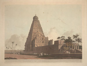 Thomas And William Daniell - o grande Pagode , Tanjore