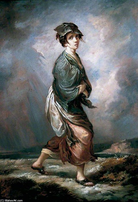 Louco Kate por Thomas Barker (1769-1847, United Kingdom)