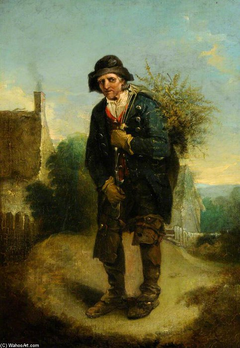 The Woodman - por Thomas Barker (1769-1847, United Kingdom)