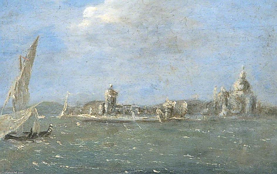 vista de veneza por Thomas Barker (1769-1847, United Kingdom)