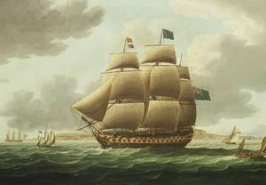 Thomas Buttersworth - Hms Ville De Paris