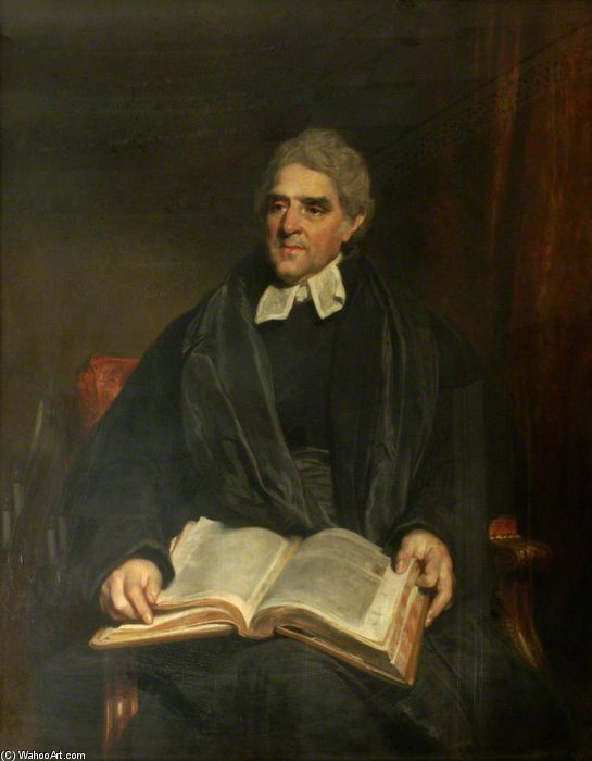 Dr. Phineas Pett, Principal por William Owen (1769-1825, United Kingdom)