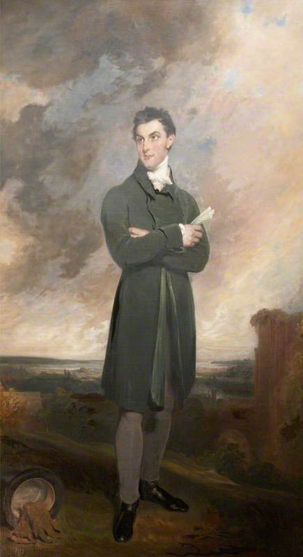 Sir Thomas Dyke Acland por William Owen (1769-1825, United Kingdom) | ArtsDot.com