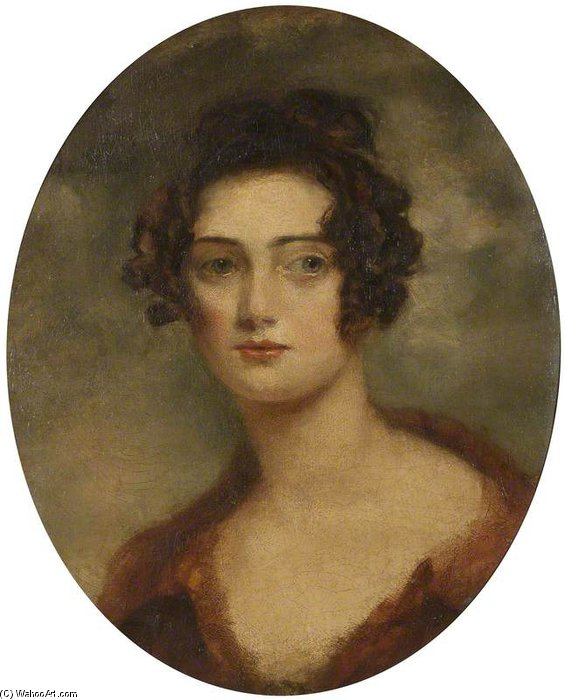 Sra Fitzwilliam por George Henry Harlow (1787-1819, United Kingdom)