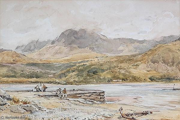 Cader Idris por Thomas Collier (1620-1691, United Kingdom)