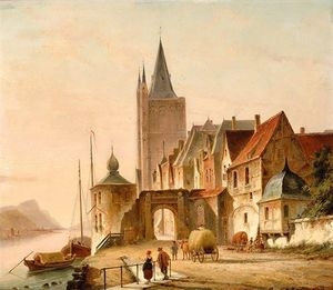 Cornelis Christiaan Dommelshui.. - O City Gate