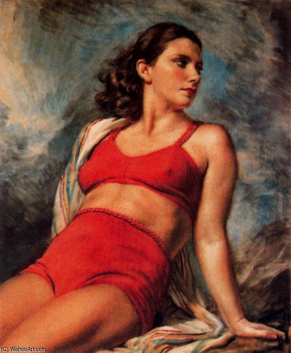 sem título (7090) por Jorge Apperley (George Owen Wynne Apperley) (1884-1960, United Kingdom)