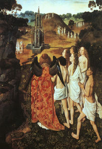 Dieric Bouts - A Way to Paradise, óleo sobre ..