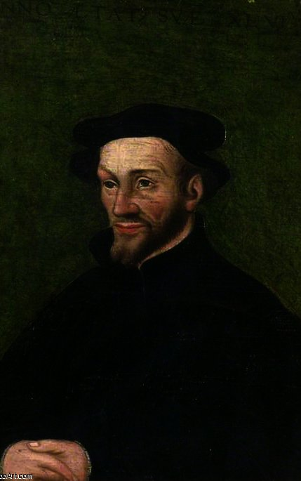 Philip Melanchton por Lucas Cranach The Elder (1472-1553, Germany)