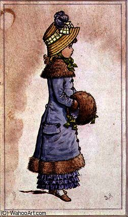 Domingo melhor por Kate Greenaway (1846-1901, United Kingdom)