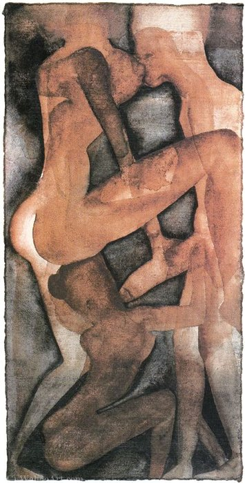 Untitled (948) por Francesco Clemente