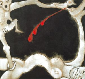 Francesco Clemente - Untitled (875)